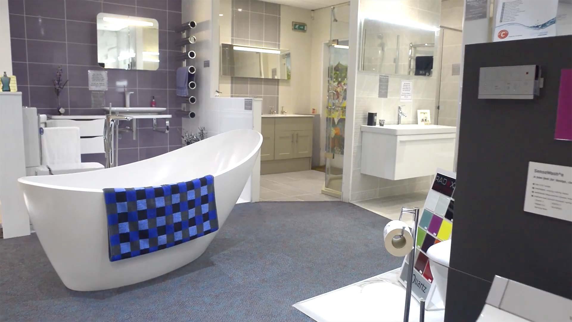 Inside Ocean Bathrooms' Bridport showroom
