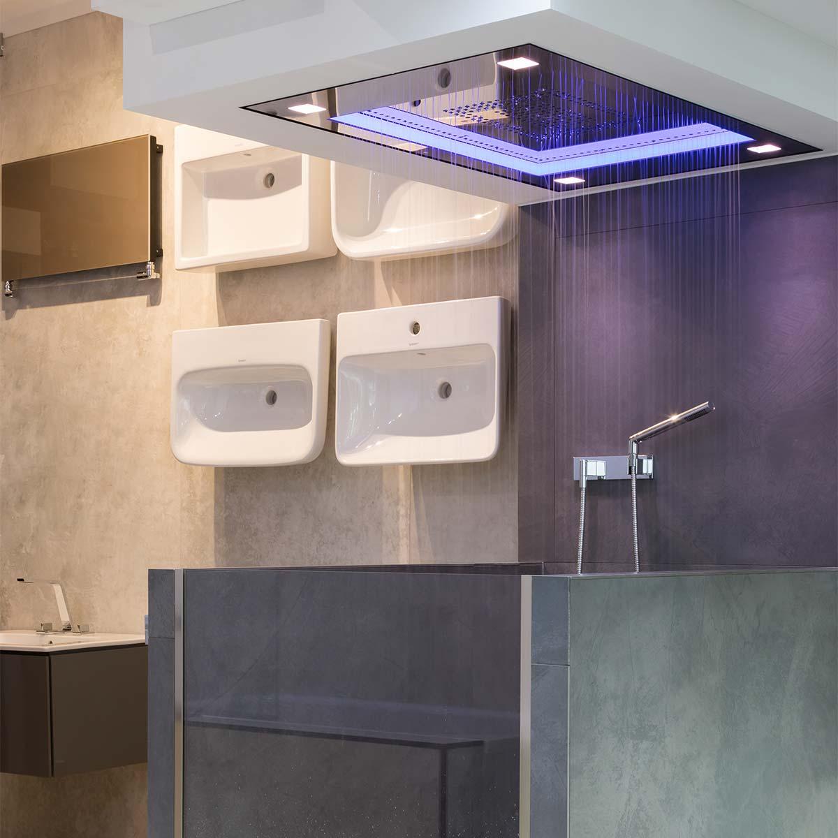 Ocean Bathrooms London showroom