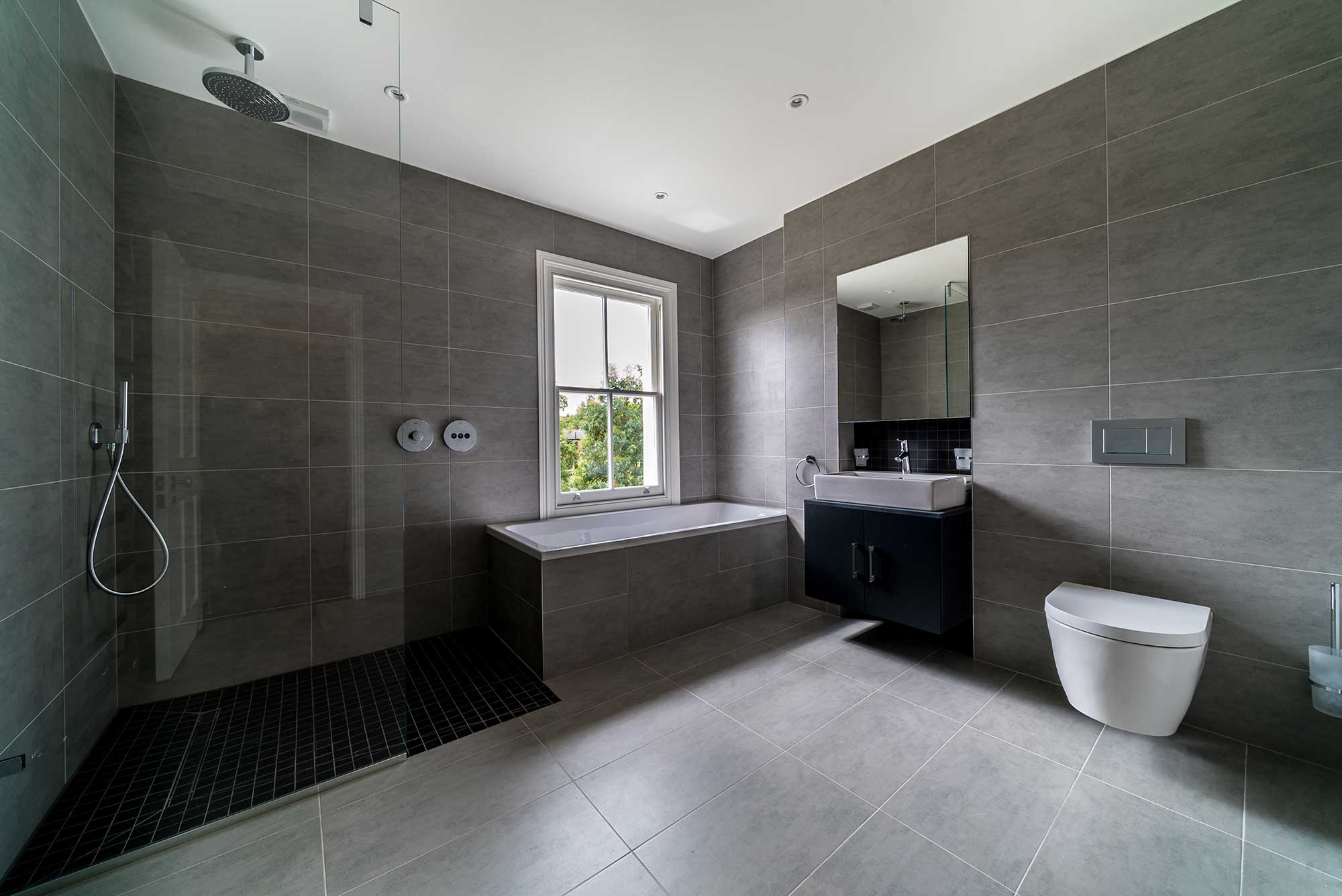 Alexandra Park Road - modern bathroom