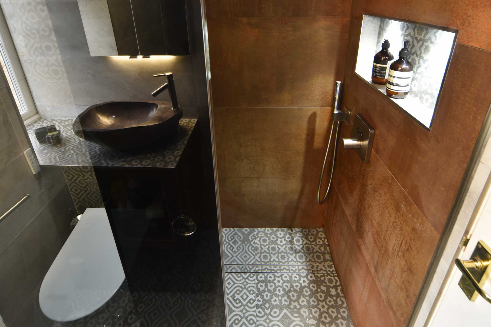 Secret Gardens Wet Room Designed And Installed By Ocean Bathrooms