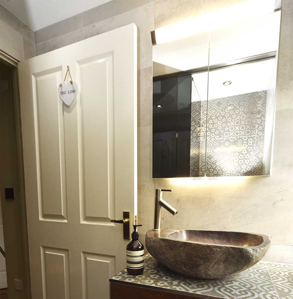 Secret Gardens wet room designed and installed by Ocean Bathrooms