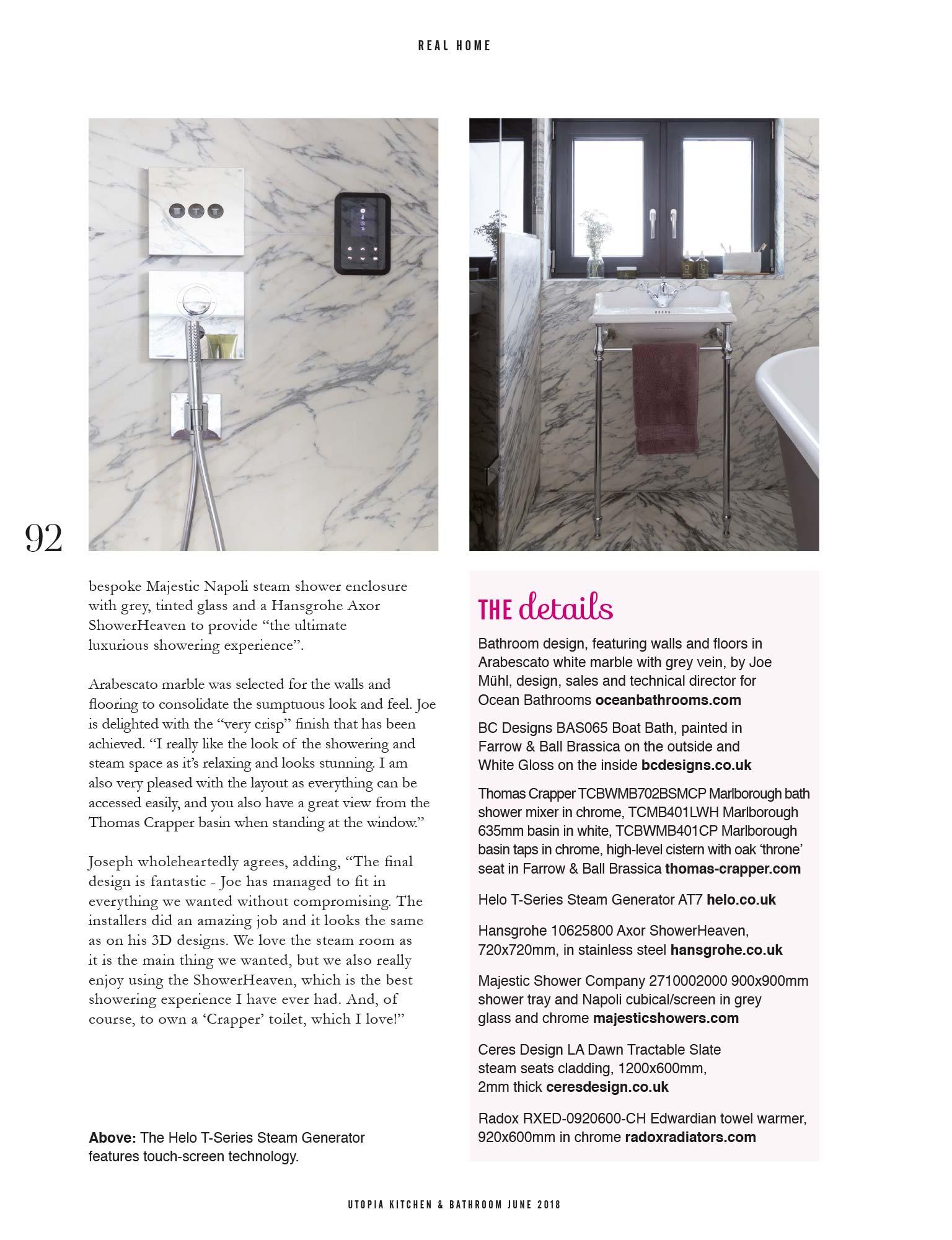 Utopia Kitchen & Bathroom June 2018 - Oxford bathroom