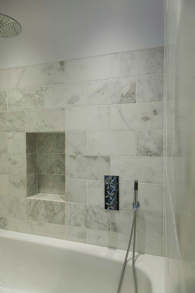 45 Queens Gate shower