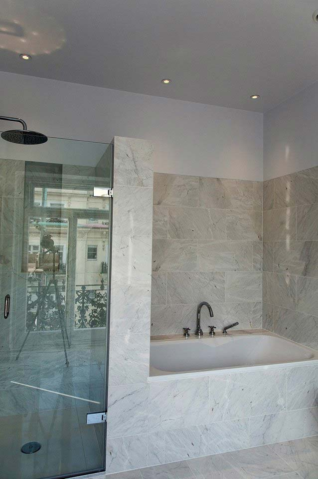 45 Queens Gate bathroom with Majestic shower enclosure