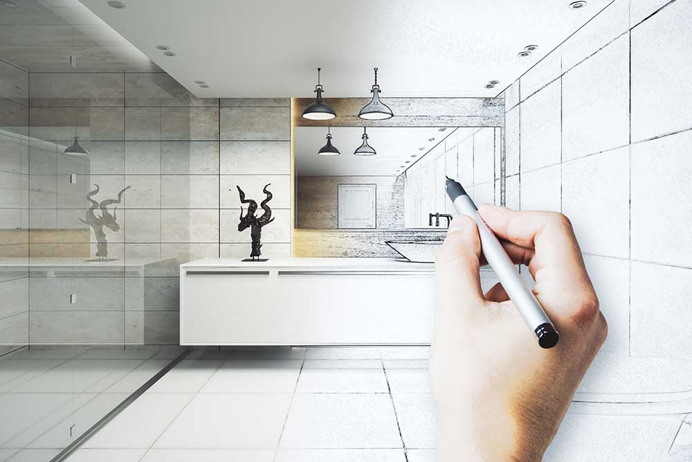 In-house RIBA architect at Ocean Bathrooms