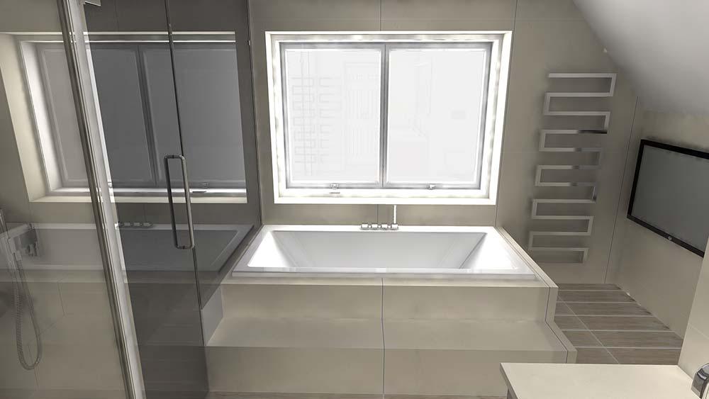 Virtual worlds bathroom design software master ensuite 3D render design