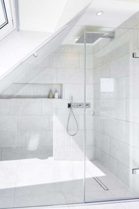 The Loft second ensuite bespoke Majestic Shower