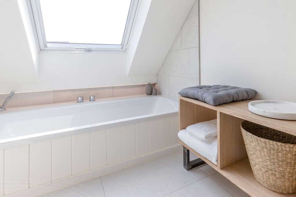 The Loft master ensuite bath