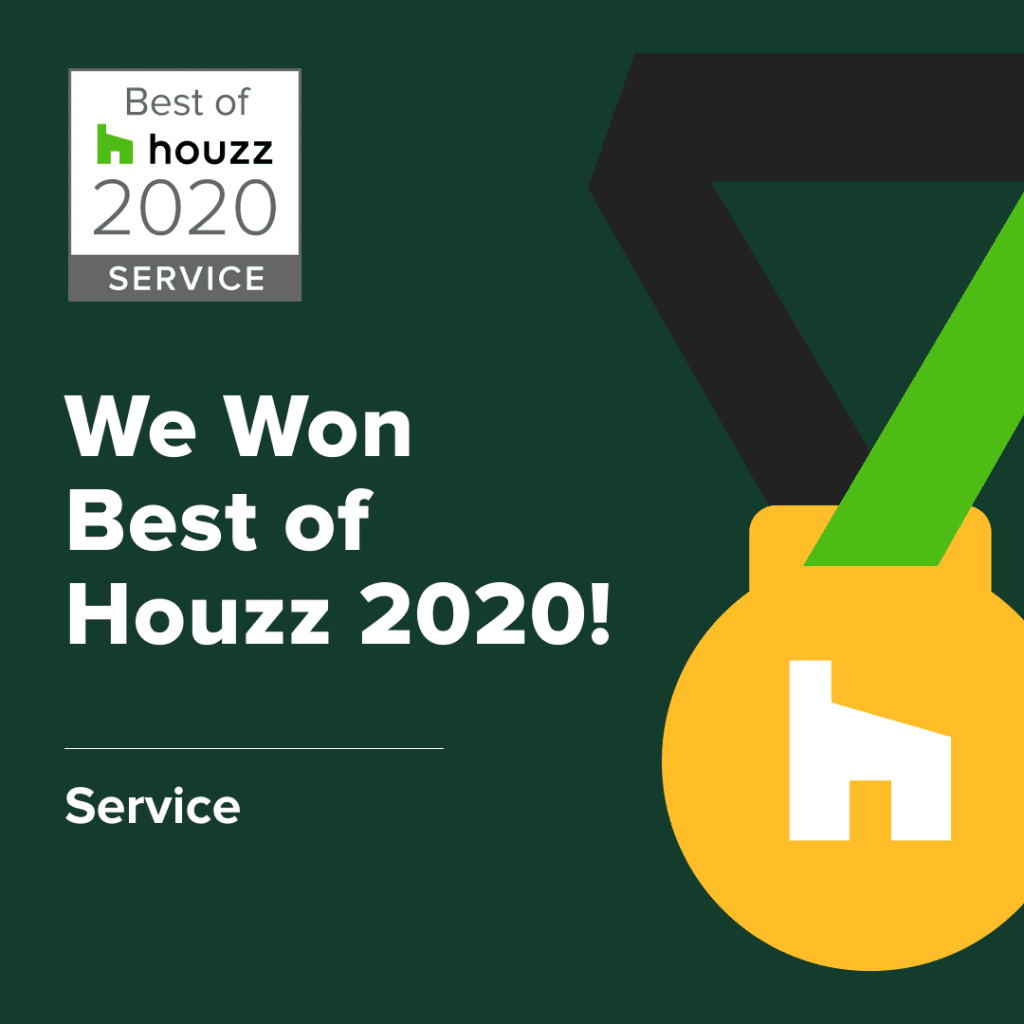 Ocean Bathrooms Best of Houzz 2020 Service Award