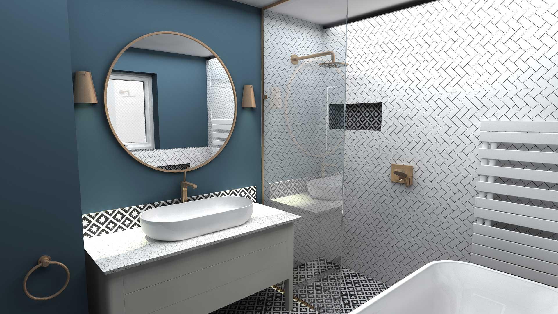 Virtual Worlds bathroom design software