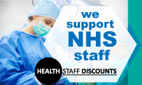 Health Staff Discounts badge