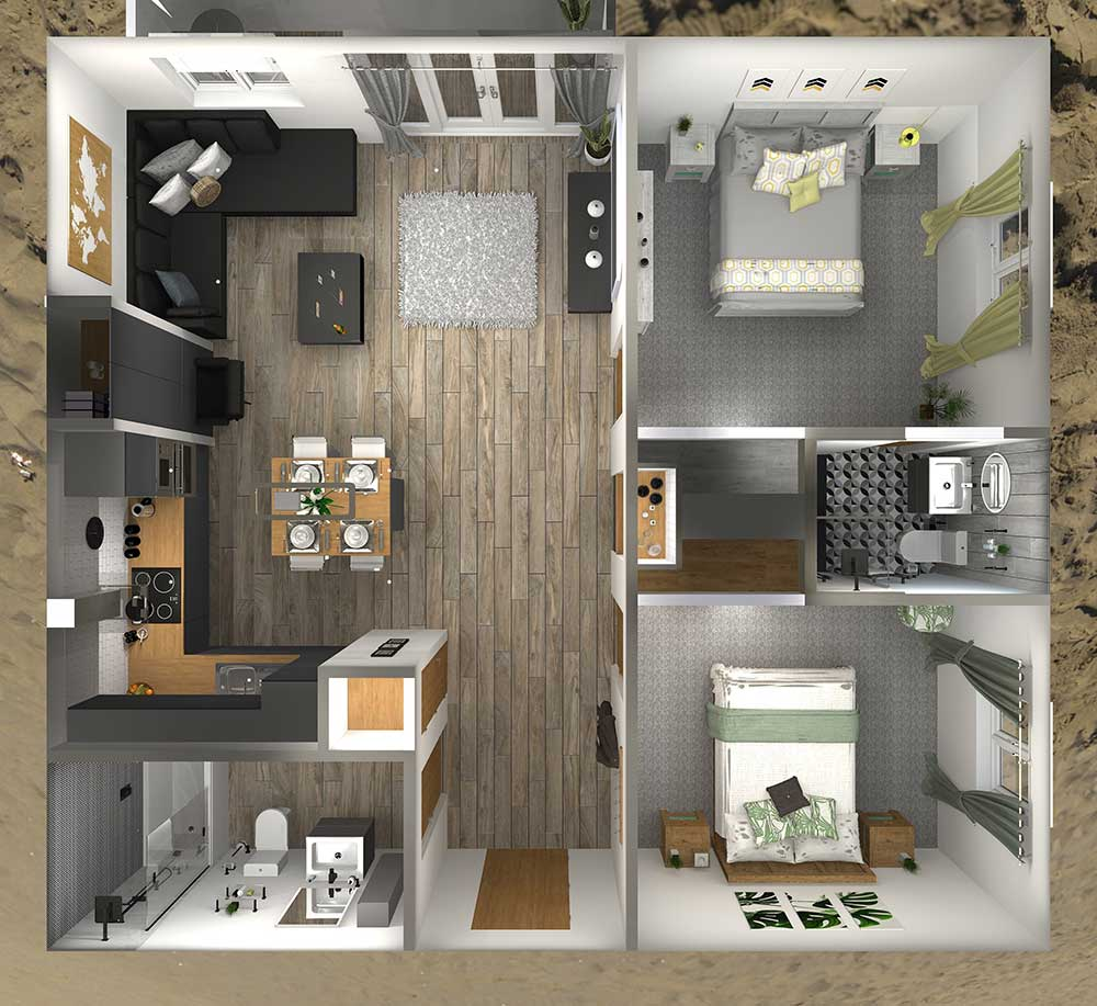 Virtual Worlds Floorplan