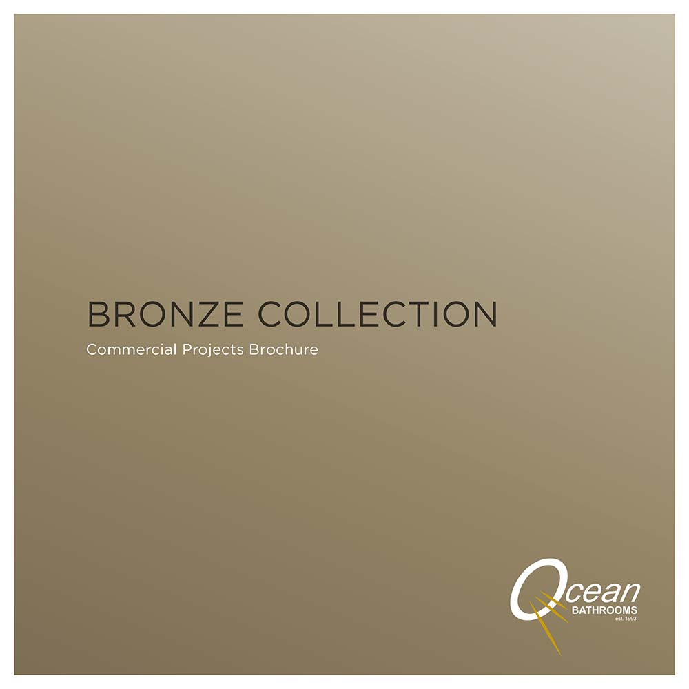 Ocean Bathrooms Bronze Collection commercial bathrooms brochure
