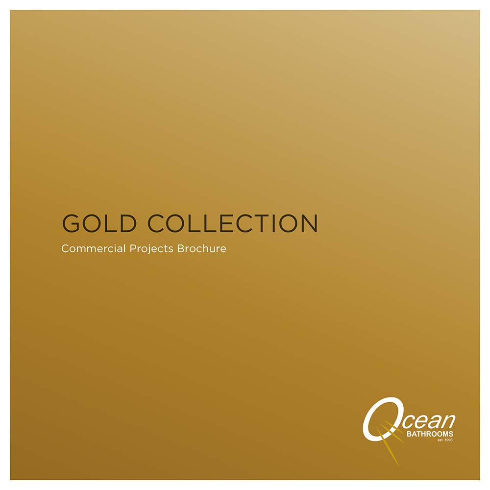 Ocean Bathrooms Gold Collection commercial bathrooms brochure