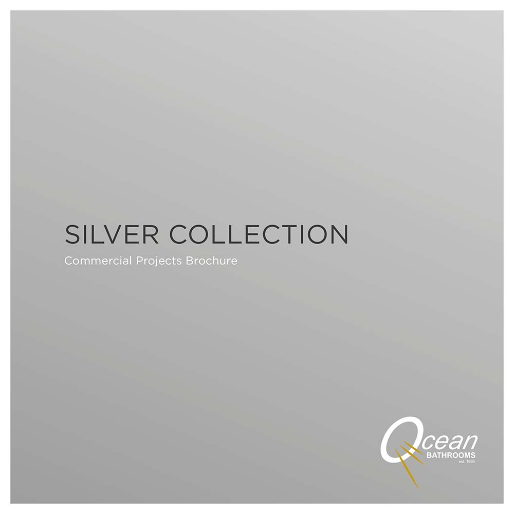 Ocean Bathrooms Silver Collection commercial bathrooms brochure
