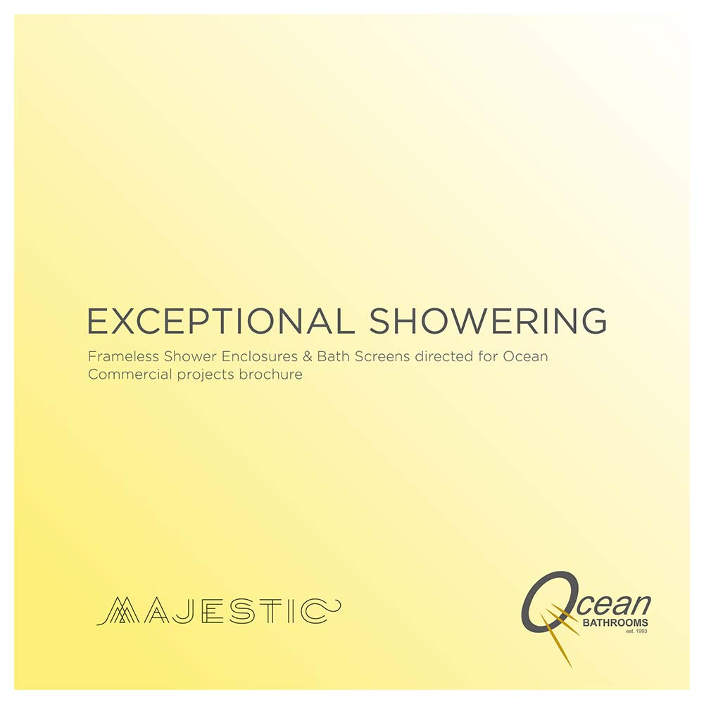 Ocean Bathrooms and Majestic Shower Company - exceptional showering brochure