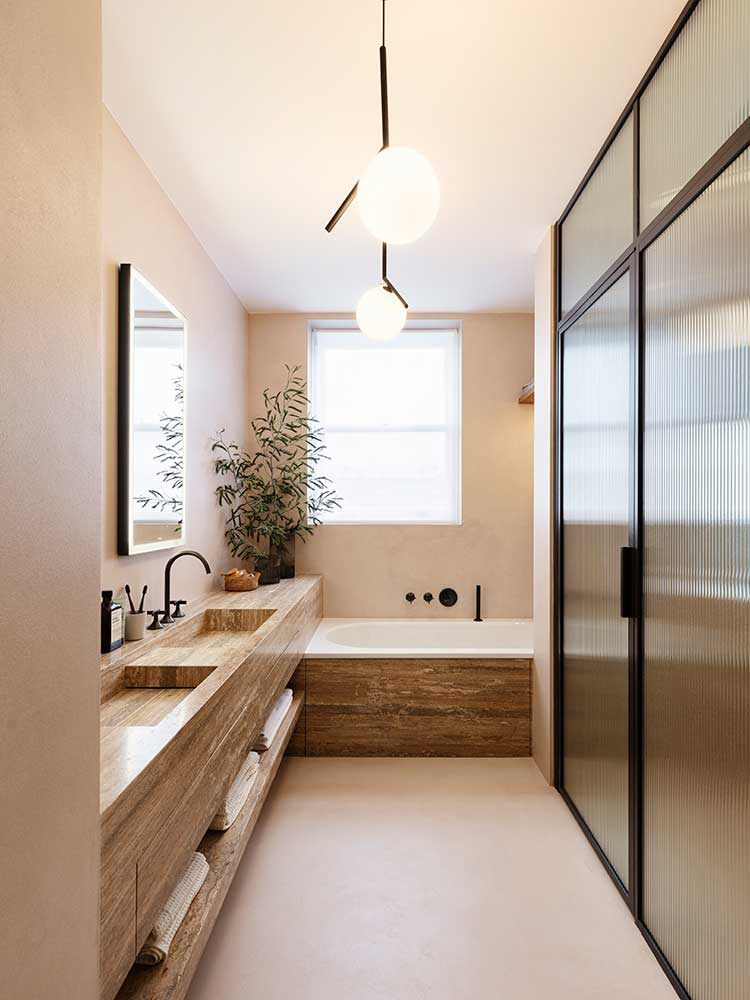 Queens Gate Terrace - master bathroom