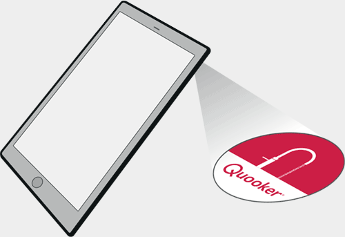 Quooker scan with app